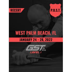 Recertification: West Palm Beach, FL (January 24-28, 2022) TENTATIVE