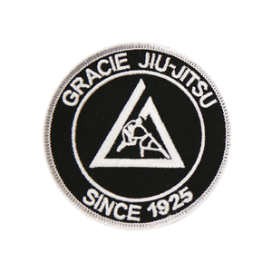 """(3x3"""") Black Small Embroidered Gi Patch"""