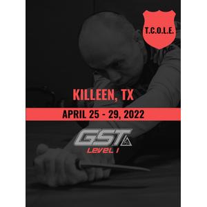 Level 1 Full Certification: Killeen, TX (April 25-29, 2022) TENTATIVE