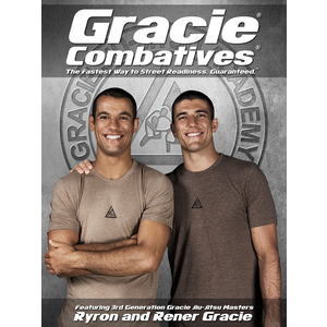 """Gracie Combatives Official Poster (18x24"""")"""