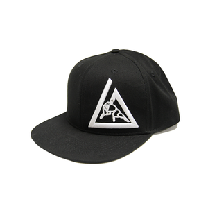 3-D Embroidered Snapback Hat (White)