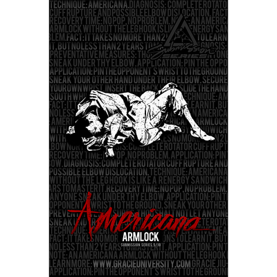 """Americana: Submission Series 5/10 Poster (11x17"""")"""