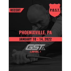 Recertification: Phoenixville, PA (January 10-14, 2022)