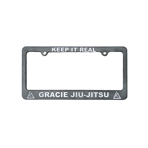 """""""Keep it Real"""" License Plate Frame"""