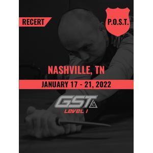 Recertification: Nashville, TN (January 17-21, 2022) TENTATIVE