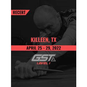 Recertification: Killeen, TX (April 25-29, 2022) TENTATIVE