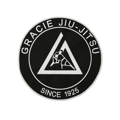 """(9x9"""") Black Large Embroidered Gi Patch"""