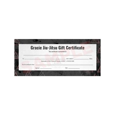 Gracie Gear Gift Certificate