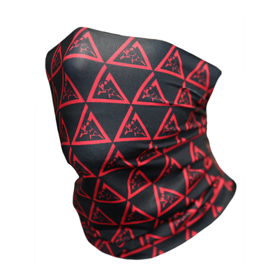Gaiter-Black & Red
