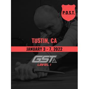 Level 1 Full Certification (CA POST Credit): Tustin, CA (January 3-7, 2022)