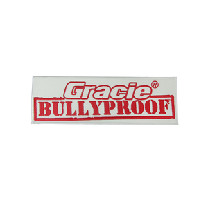 """(4.75x1.75"""") Small Gracie Bullyproof Patch"""