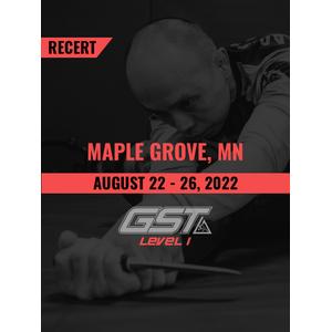 Recertification: Maple Grove, MN (August 22-26, 2022) TENTATIVE