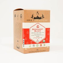 Bergamot Black (Earl Grey): 15 Tea Sachets