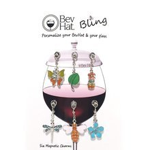 BevHat Bling Spring Charm Collection (6 Charms)