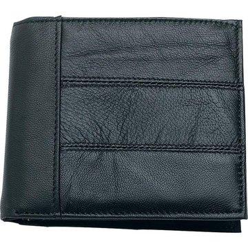 Embassy Men's Solid Genuine Leather Bi-Fold Wallet