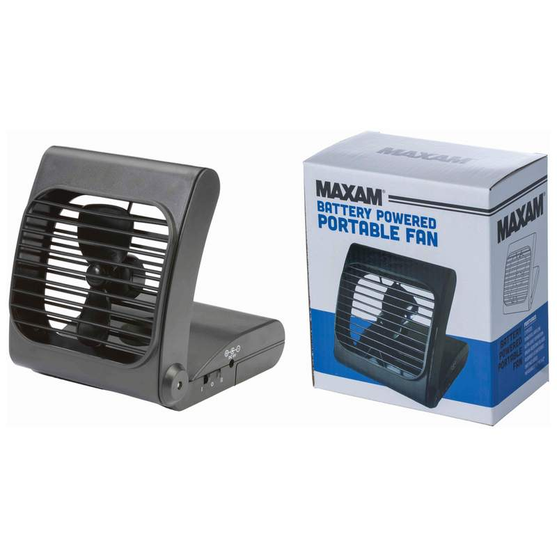 Maxam Battery Powered Portable Fan_2