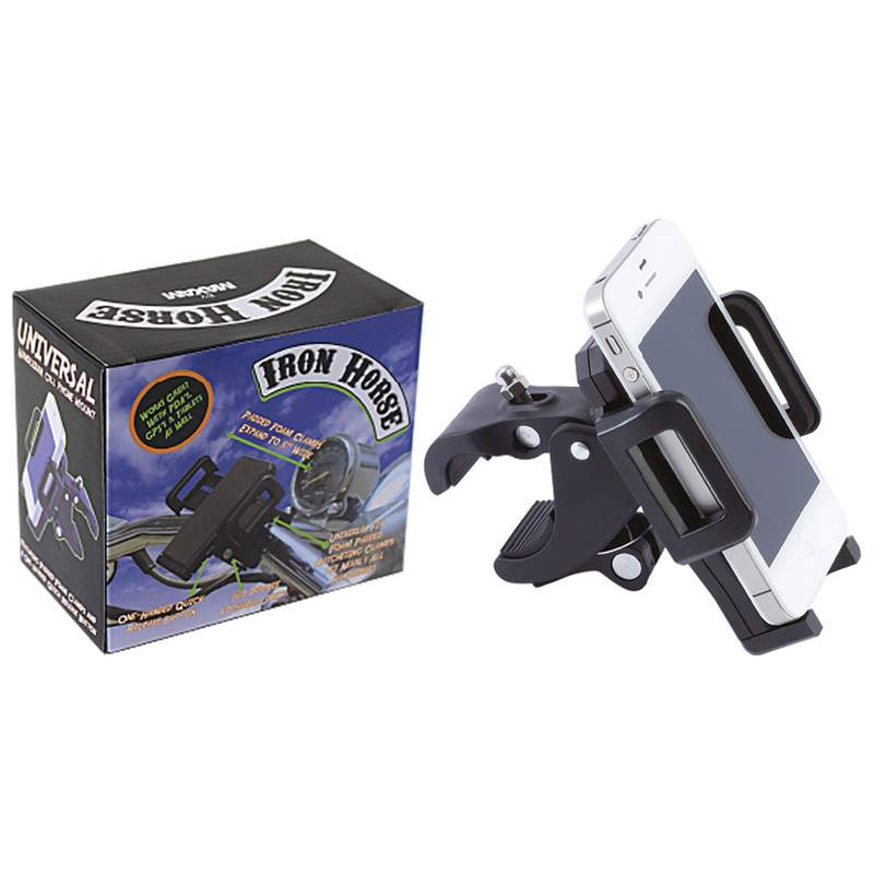 Iron Horse by Maxam Adjustable Motorcycle/Bicycle Phone Mount_3