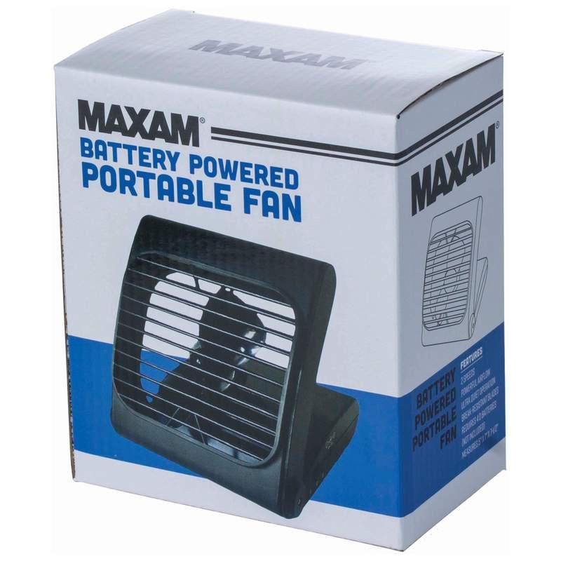 Maxam Battery Powered Portable Fan_3