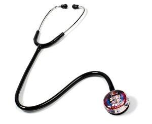 Clear Sound Stethoscope, Adult, Betty Boop Luv-a-Nurse, Print