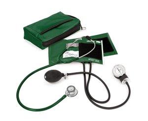 Aneroid Sphygmomanometer / Clinical Lite Stethoscope Kit, Adult, Navy