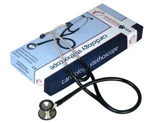 Cardiology Stethoscope - Black