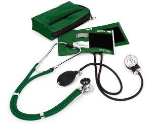 Aneroid Sphygmomanometer / Sprague-Rappaport Stethoscope Kit, Adult, Hunter