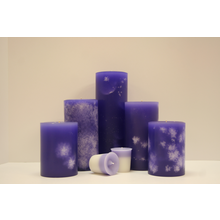 "4"" Olympic Lavender Pillar"