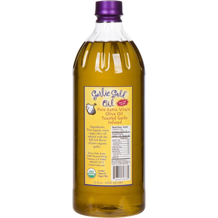 Low FODMAP Organic Garlic Olive Oil