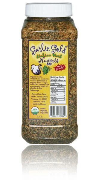 Garlic Gold Italian Herb Nuggets - 1 LB