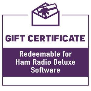 Ham Radio Deluxe Software Gift Certificate