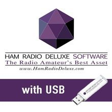 Ham Radio Deluxe Software Activation Key and 12 Months of Software Maintenance & Support on USB