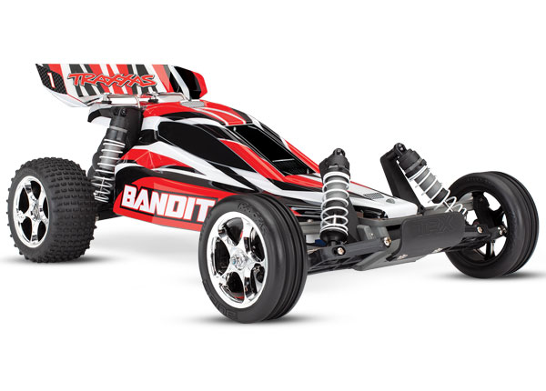Traxxas Pink Wheelie Bar//Red Alum Wheels /& Rubber Tires Stampede VXL //Bandit