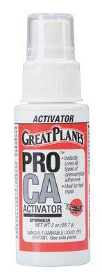 Pro CA Activator 2 oz w/Pump Foam Safe