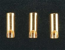 Gold Plated Bullet Connector Female 3.5mm (3)