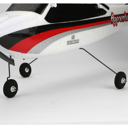 The Apprentice's tricycle landing gear provides stable and predictable ground handling.