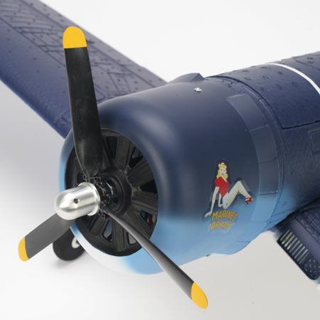 Includes 3-blade and 2-blade propellers along with a 480 outrunner brushless motor