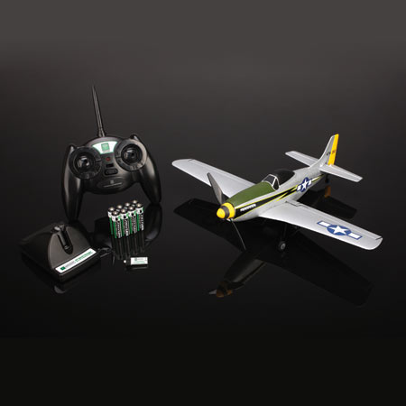 The P-51D Mustang RTF comes out of the box completely