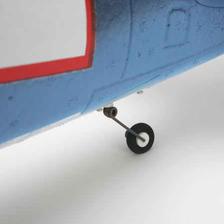 Steerable tail wheel for easy and predictable ground handling