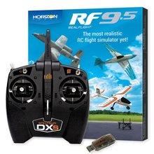 RealFlight 9.5 Flight Sim Combo w/DXS and WS2000