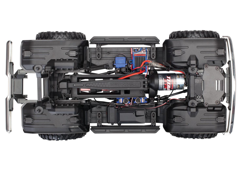 Rock Light Covers /& Battery Plate Traxxas 8072 TRX-4 Ford Bronco Inner Fenders
