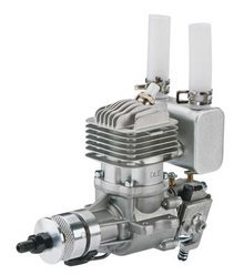 DLE-20RA Rear Exhaust Gas Engine w/EI & Muffler