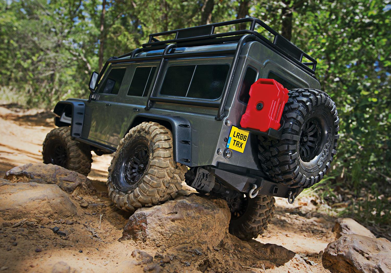 Traxxas 8012 Decals Land Rover Defender TRX-4 Crawler