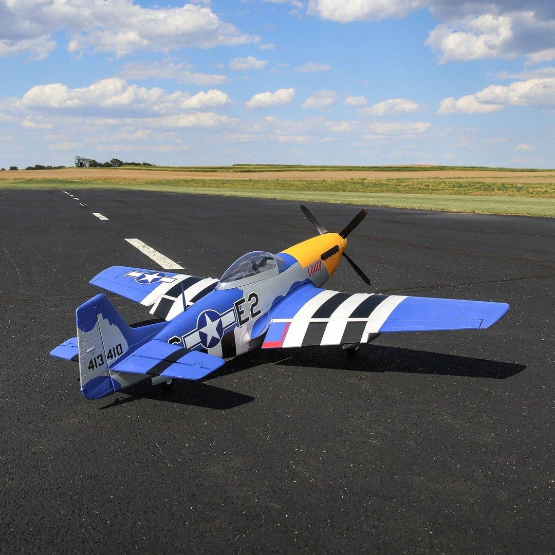 P-51D 1.5m Mustang SPMXAM1000 Spektrum 4258-460Kv 14-Pole Brushless Motor