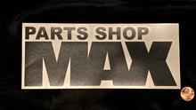 "MAX Logo Sticker 8"" BLACK"