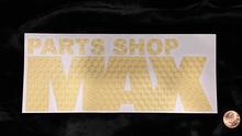 "MAX Logo Sticker 8"" GOLD"