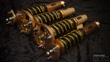 Pro true coilovers for E46 BMWs 10kg F 6kg R