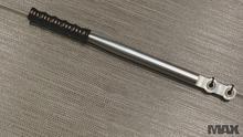 Ball Bearing Adjustable Handle Black Chrome grip
