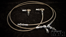 E46 Hand Brake lines and fittings kit w/ ABS Delete for Inline Master