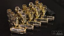 GOLD Spline Drive Racing Lug Nuts 12x1.50 thread (Toyota, Mazda, Hyundai)