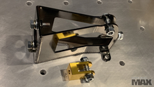 Ball Bearing Hand Brake Forward mounted Master Cyl base structure